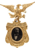 Political:Pinback Buttons (1896-present), Rutherford B. Hayes: A Very Choice 1876 Ferrotype Badge....