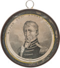 """Political:Small Miscellaneous (pre-1896), Andrew Jackson: An Exceedingly Rare Large """"Pewter Rim.""""..."""