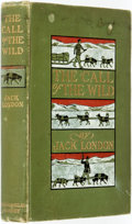 Books:Literature 1900-up, Jack London. The Call of the Wild. New York: The Macmillan Company, 1903. First edition. ...