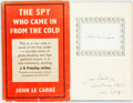 Books:Literature 1900-up, John Le Carré. SIGNED. The Spy Who Came in From the Cold.London: Victor Gollancz Ltd., 1963. Fifth impression. ...