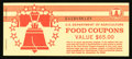 Miscellaneous:Other, Food Coupon Full $65 Booklet Series 1991B.. ...