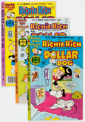 Bronze Age (1970-1979):Cartoon Character, Richie Rich and Dollar the Dog File Copy Group of 56 (Harvey,1977-82) Condition: NM-.... (Total: 53 Comic Books)