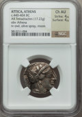 Ancients:Greek, Ancients: ATTICA. Athens. Ca. 454-404 BC. AR tetradrachm (17.22gm). ...