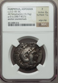 Ancients:Greek, Ancients: MACEDONIAN KINGDOM. Alexander III the Great (336-323 BC).AR tetradrachm (15.76 gm)....