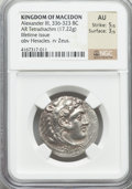 Ancients:Greek, Ancients: MACEDONIAN KINGDOM. Alexander III the Great (336-323 BC).AR tetradrachm (17.22 gm)....