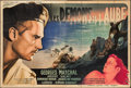 "Dawn Devils (Gaumont, 1946). French Double Grande (63"" X 93""). Foreign"