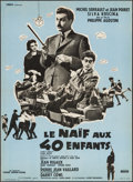 "Movie Posters:Foreign, The Innocent with Forty Children (Cinedis, 1957). French Affiche (23.75"" X 31.25""). Foreign.. ..."
