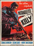 "Movie Posters:Crime, Machine Gun Kelly (American International, 1958). French Grande(47"" X 63""). Crime.. ..."