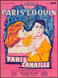 "Movie Posters:Foreign, Maid in Paris (Sonofilm, 1956). French Affiche (22.75"" X 30.75""). Foreign.. ..."