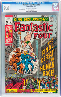 Fantastic Four Annual #8 (Marvel, 1970) CGC NM+ 9.6 Off-white to white pages