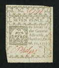 Colonial Notes:Connecticut, Connecticut October 11, 1777 7d New.. ...
