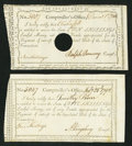 Colonial Notes:Connecticut, Connecticut Interest Payment Certificates 5s; 10s 1792; 1790Anderson CT-50; CT-51 Very Fine or Better.. ... (Total: 2 notes)