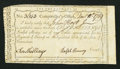 Colonial Notes:Connecticut, Connecticut Interest Certificate 10s December 10, 1789 AndersonCT-53 Fine, CC.. ...