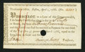 Colonial Notes:Massachusetts, (Massachusetts) Boston Treasury Certificate £3 April 1, 1786Extremely Fine.. ...