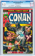 Bronze Age (1970-1979):Miscellaneous, Conan the Barbarian #36 (Marvel, 1974) CGC NM- 9.2 Off-white towhite pages....