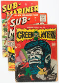 Golden Age (1938-1955):Miscellaneous, Comic Books - Assorted Golden Age Comics Group of 8 (Various Publishers, 1940s-50s) Condition: Incomplete.... (Total: 8 Items)