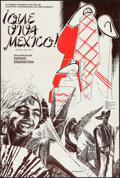 """Movie Posters:Documentary, Que Viva Mexico (Sovexportfilm, R-1979). Argentinean Poster (29"""" X 43""""). Documentary.. ..."""