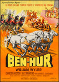"Movie Posters:Academy Award Winners, Ben-Hur (MGM, 1959). French Affiche (21"" X 29.5""). Academy AwardWinners.. ..."
