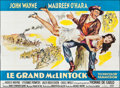 "Movie Posters:Western, McLintock! (United Artists, 1963). French Four Panel (89"" X 123""). Western.. ..."