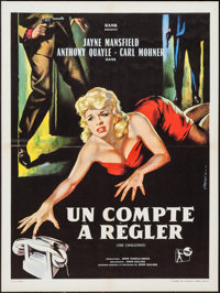 "The Challenge (Rank, 1960). French Affiche (23.5"" X 31.5""). Crime. Also known as It Takes a Thief"