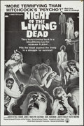 "Movie Posters:Horror, Night of the Living Dead (Continental, 1968). One Sheet (27"" X 41"")and Lobby Cards (6) (11"" X 14""). Horror.. ... (Total: 7 Items)"