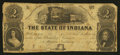 Obsoletes By State:Indiana, Marion, IN- Ohio, Indiana & Illinois Rail Road Company $2 Nov. 1, 1857. ...