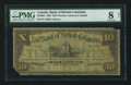 Canadian Currency: , Victoria, BC- Bank of British Columbia $10 Jan. 1, 1894 Ch. #50-16-04. ...