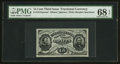 Fractional Currency:Third Issue, Fr. 1275SP 15¢ Third Issue Wide Margin Face PMG Superb Gem Unc 68EPQ.. ...