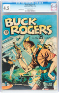 Golden Age (1938-1955):Science Fiction, Buck Rogers #1 (Eastern Color, 1940) CGC VG+ 4.5 Cream to off-whitepages....