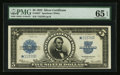 Large Size:Silver Certificates, Fr. 282* $5 1923 Silver Certificate PMG Gem Uncirculated 65 EPQ.. ...