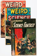 Golden Age (1938-1955):Science Fiction, Weird Science/Weird Science-Fantasy Group of 4 (EC, 1951-55)....(Total: 4 Comic Books)