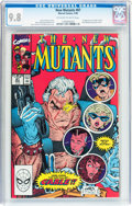 Modern Age (1980-Present):Superhero, The New Mutants #87 (Marvel, 1990) CGC NM/MT 9.8 Off-white to whitepages....