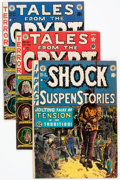 Golden Age (1938-1955):Horror, EC Golden Age Horror Comics Group of 9 (EC, 1950s) Condition:Average GD+.... (Total: 9 Comic Books)