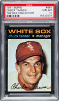 Baseball Cards:Singles (1970-Now), 1971 Topps Chuck Tanner #661 PSA Gem Mint 10 - Pop One! ...