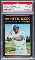 Baseball Cards:Singles (1970-Now), 1971 Topps Walt Williams #555 PSA Gem Mint 10 - Pop One!...