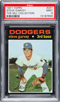 Baseball Cards:Singles (1970-Now), 1971 Topps Steve Garvey #341 PSA Mint 9....