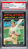 Baseball Cards:Singles (1970-Now), 1971 Topps Reggie Jackson #20 PSA Mint 9 - None Higher....