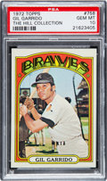 Baseball Cards:Singles (1970-Now), 1972 Topps Gil Garrido #758 PSA Gem Mint 10 - Pop One. ...