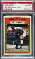 Baseball Cards:Singles (1970-Now), 1972 Topps Tom Seaver IA #446 PSA Gem Mint 10 - Pop Two....