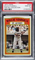Baseball Cards:Singles (1970-Now), 1972 Topps Willie Stargell IA #448 PSA Gem Mint 10 - Pop Two. ...
