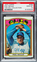 Baseball Cards:Singles (1970-Now), 1972 Topps Phil Regan #485 PSA Gem Mint 10 - Pop One....