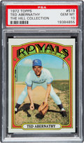 Baseball Cards:Singles (1970-Now), 1972 Topps Ted Abernathy #519 PSA Gem Mint 10 - Pop One. ...