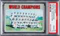 Baseball Cards:Singles (1970-Now), 1970 Topps World Champions #1 PSA Gem Mint 10 - Pop Two....