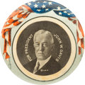 "Political:Pinback Buttons (1896-present), John W. Davis: Extremely Rare, Colorful 1¾"" Celluloid Button...."