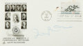 Autographs:Celebrities, Composer Irving Berlin Signed First Day Cover....