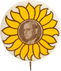 Political:Pinback Buttons (1896-present), Alf Landon: Philly Badge Picture Pin....