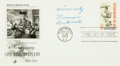 Autographs:Artists, Artist Norman Rockwell Signed First Day Cover....
