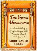 Books:Biography & Memoir, Lord David Cecil. The Young Melbourne. And the Story ofHis Marriage with Caroline Lamb. Indianapolis: The Bobbs...