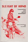 Books:Biography & Memoir, Walter Satterthwait and Ernie Bulow. SIGNED/LIMITED. Sleight ofHand. Conversations with Walter Satterthwait. Al...