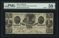 Obsoletes By State:Ohio, Kirtland, OH- Kirtland Safety Society Bank $10 Mar. 1, 1837 G10Rust 8 Wolka 1424-12. ...